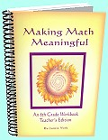Making Math Meaningful - An 8th Grade Workbook - Teacher's Edition