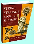 String, Straightedge and Shadow by Julia Diggins
